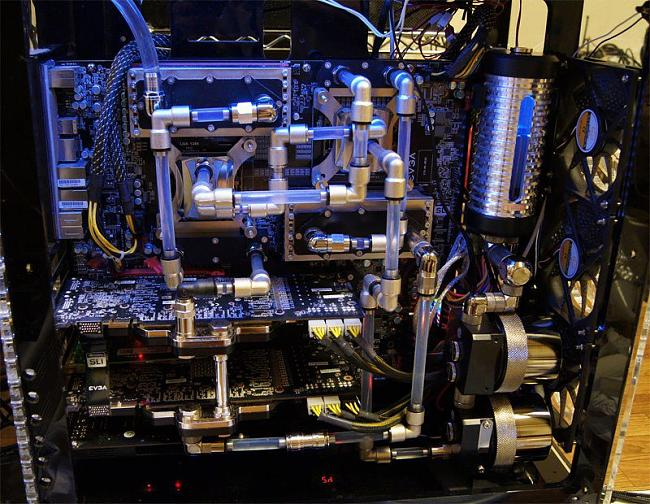 how to do straight lines tubing for watercooling