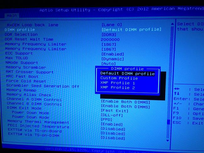 how to change ram timi g in asus bios