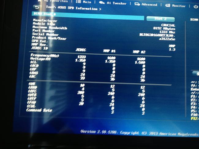 asus z87-a cold boot hangs red cpu light - Page 2