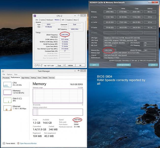 how to change ram speed in asus bios