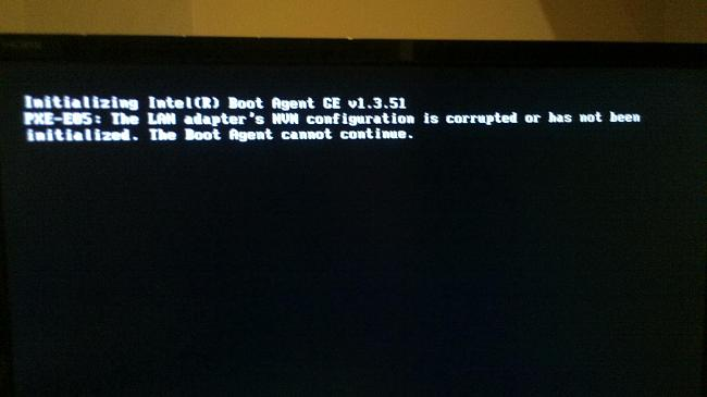 able to post bios but cannot find boot device