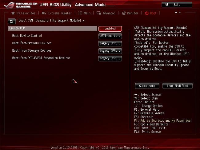 Stuck at BIOS Logo with WD 1 5TB HD installed to Maximus 6
