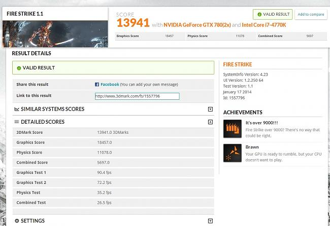 Share Your 3DMark Scores(Fire Strike Only Please) - Page 18