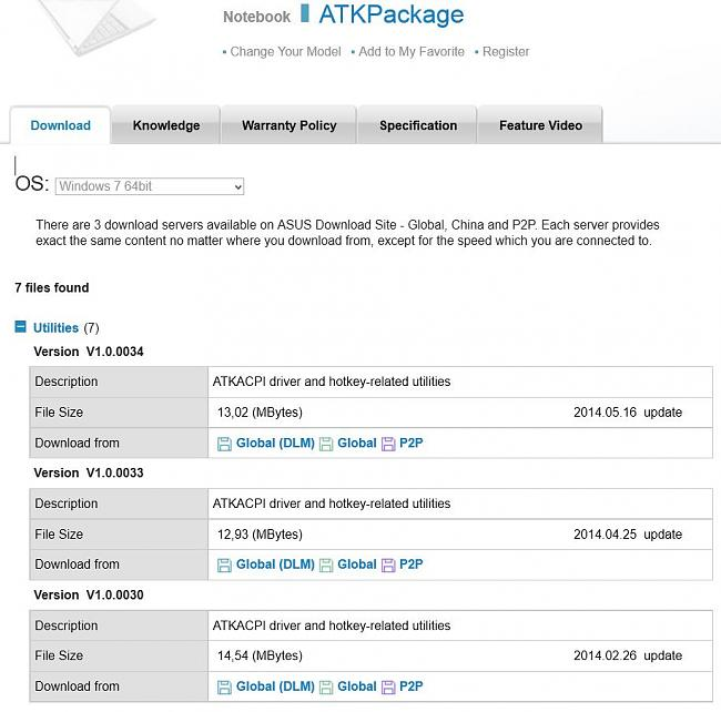 Free Download Asus Atk Package - winsite.com