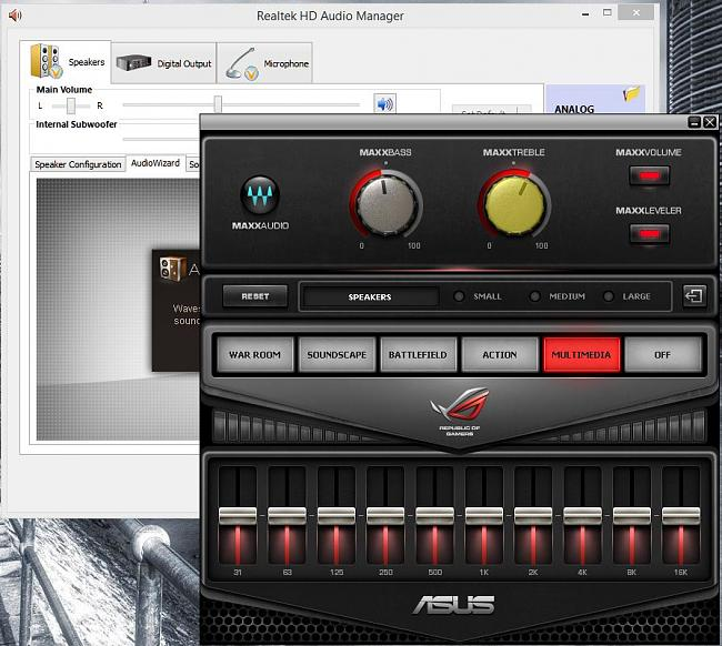 what is audio wizard on windows 10