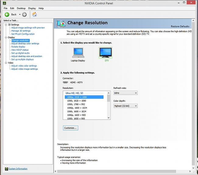 cant get the g750jh displayport to work with thunderbolt