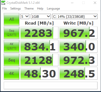 Please Help Validate my Samsung 950 PRO SSD Boot Drive
