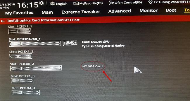 MAXIMUS VIII FORMULA vs GEFORCE 1080GTX SLI NOT WORKING