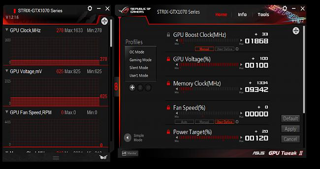 Strix GTX 1070 Overclocking Guide