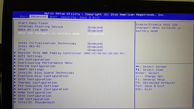 ASUS G752VY BIOS UNLOCKED with tons of settings revealed
