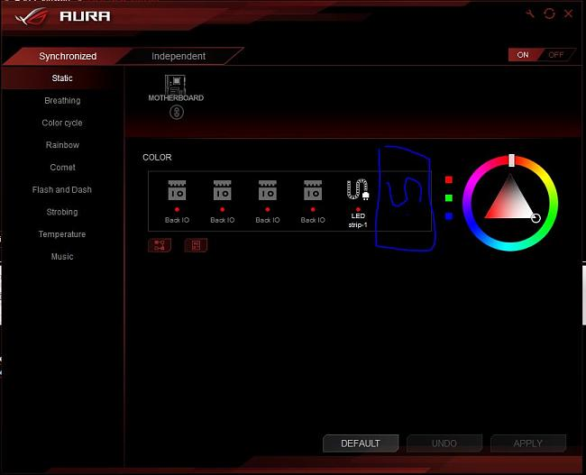 Asus AURA RGB Header 2 missing STRIX 270E