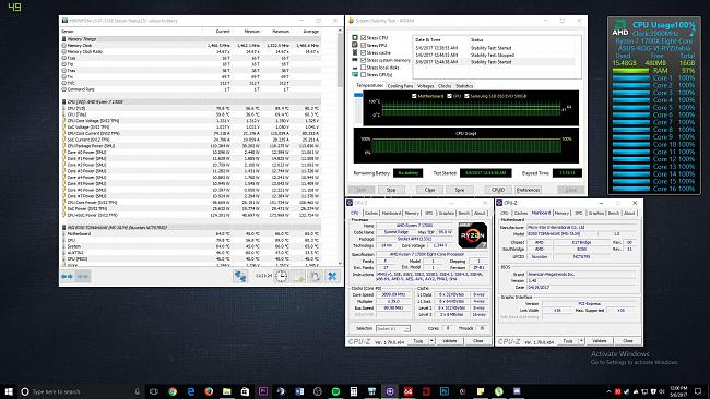 MSI B350 TomaHawk Overclocks better than C6H  WHY? (And
