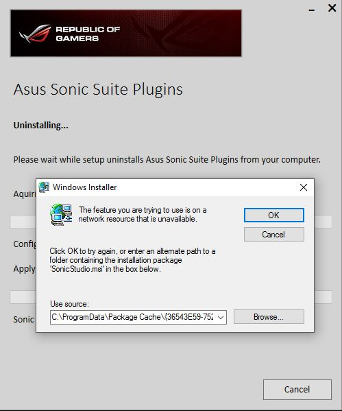 Can't reinstall Sonic Studio ? Audio issues persist years
