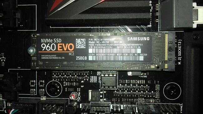 HELP WITH M 2 SAMSUNG 960 EVO 250GB  - Asus Z170 Pro Gaming - Page 2