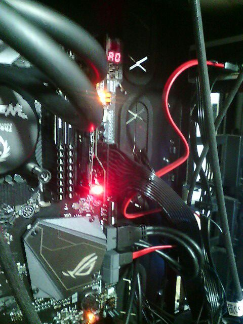 Red Light in Dimm 2