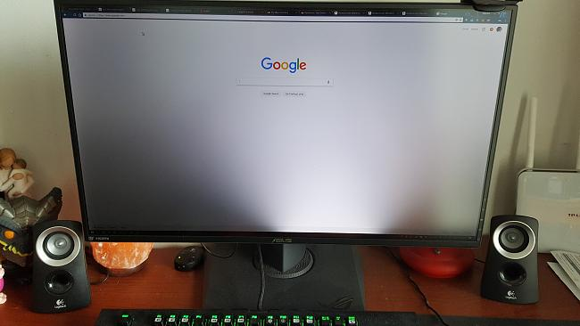 asus pg279q backlight fails in all but one section fix possible or