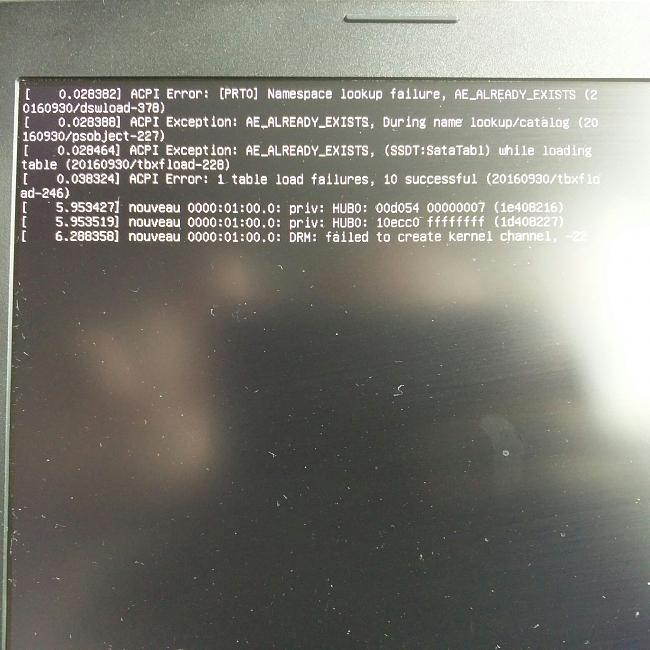 GL753VE Laptop cannot launch Linux Install or normal boot