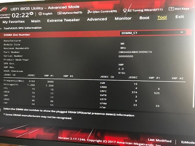 Rog Vi Apex Detects Only 2 4 Ram Modules Correctly
