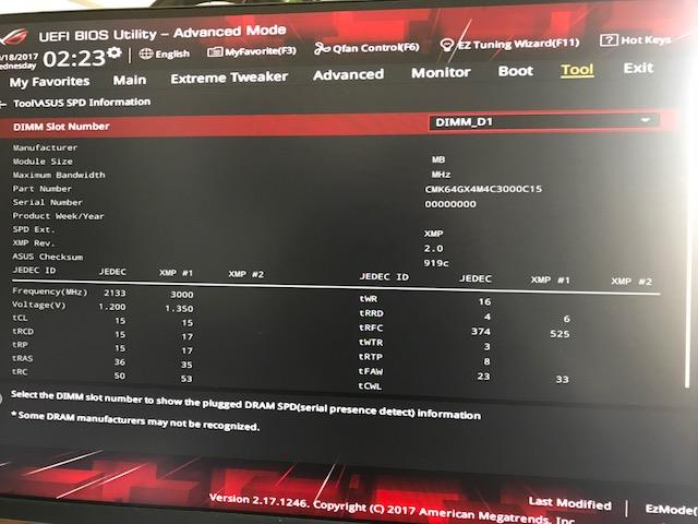 ROG VI APEX detects only 2/4 Ram Modules correctly?