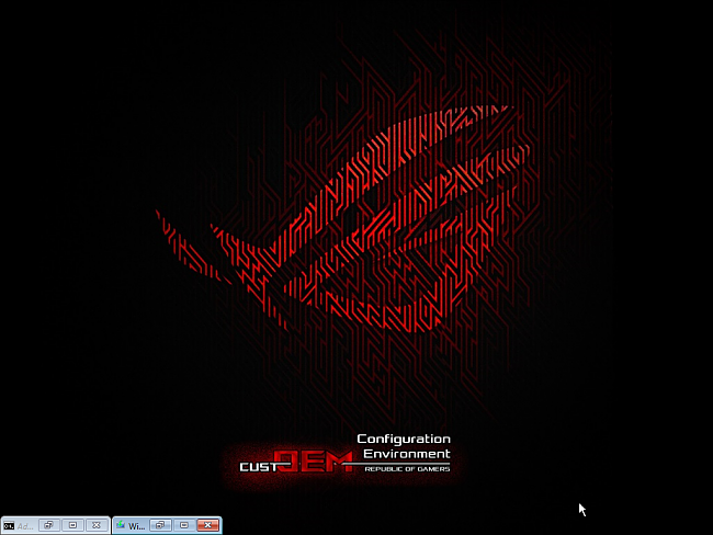 CustOEM ROG Windows 10 1709 Home, Pro & Edu Install