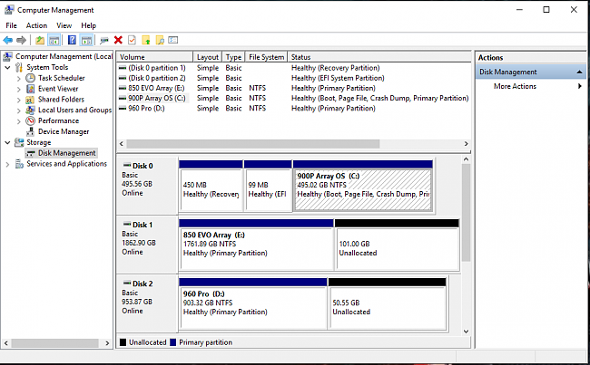 VROC Bootable Raid with Intel 900p - when will this be supported in