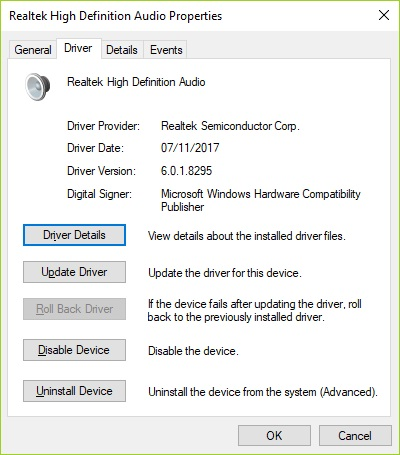 Realtek High Definition Audio Driver 6 0 1 8295 5 1 DTS win