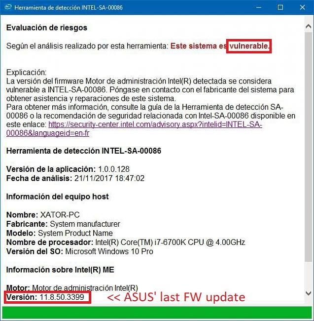 A new update for the ME Drivers  and a bios ME DRIVER???? - Page 3