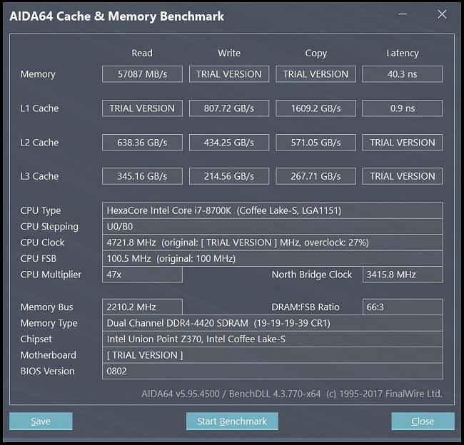 Problems achieving stable XMP settings using i7-8700k, Maximus X