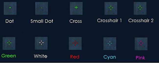 Monitors Crosshair