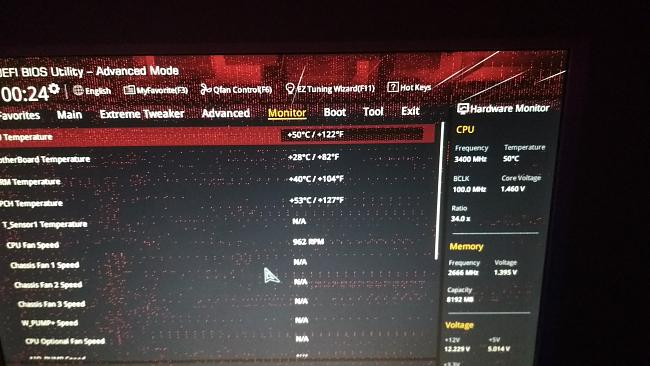Artifacts in bios and any system doesn't boot