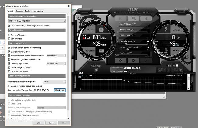 GL702VS Can't do core voltage, power limit, and fan speed