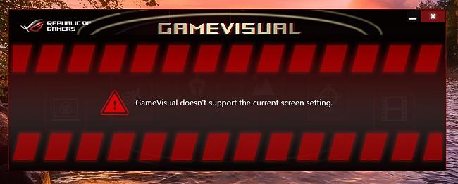 about RoG GameVisual