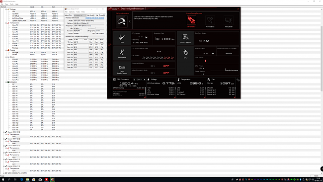 Problem with different temps CPU between AI suite3, core temp and