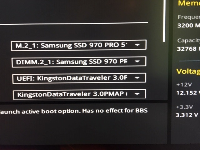 Asus Rampage OMEGA - please help me configure my M 2 drive