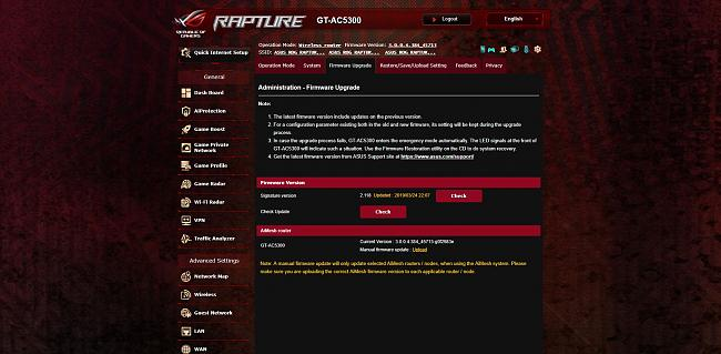 ROG Rapture GT-AC5300 - Firmware 3 0 0 4 384 45149 [report if any