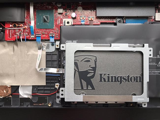 New asus rog strix gl531gt not detecting added ssd