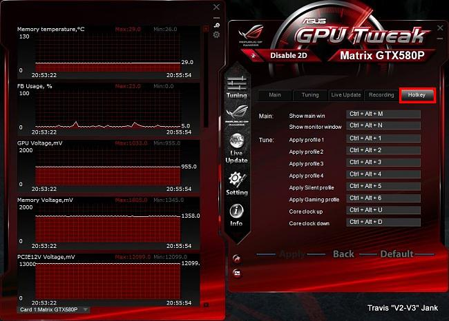 GPU Tweak Settings Hotkey