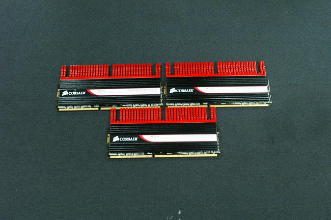 Corsair Trippe Channel 6GB 3x2GB DDR3 2533MHz GTX4 Memory Kit