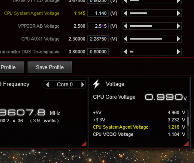 Click image for larger version.  Name:System Agent Voltage.PNG Views:1 Size:322.1 KB ID:84084