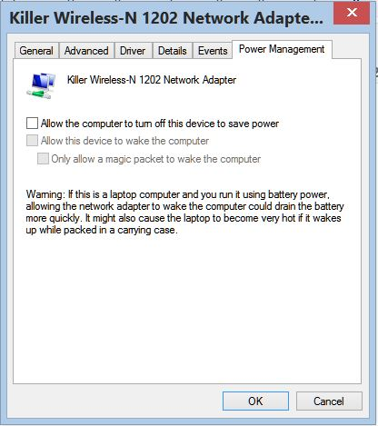 Click image for larger version.  Name:wifi turn off power saving feature.JPG Views:44 Size:44.4 KB ID:48117
