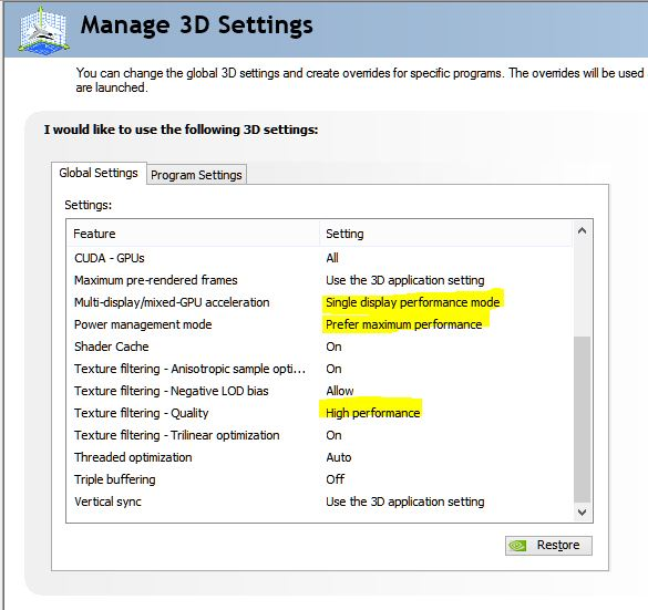 Click image for larger version.  Name:manage 3d settings.JPG Views:141 Size:58.7 KB ID:44215