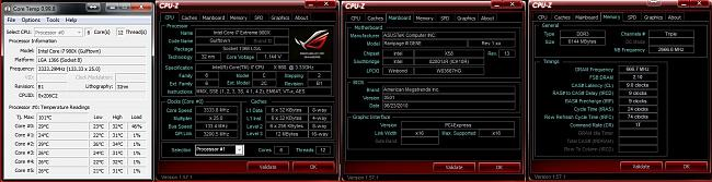 Rampage 3 Gene before overclocking