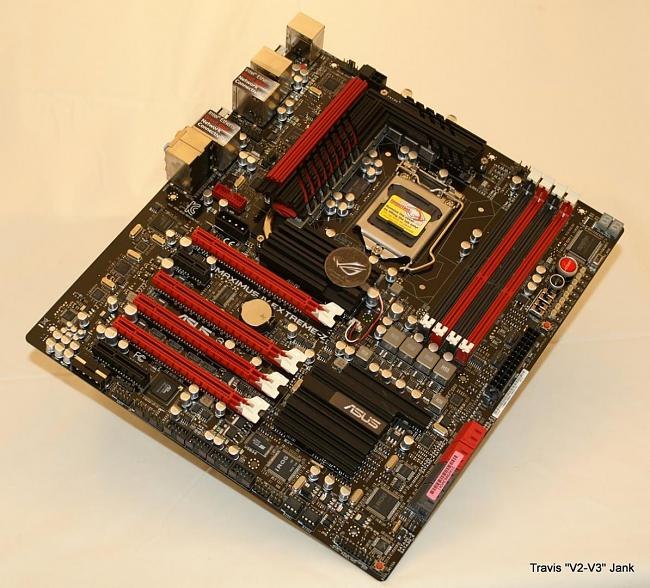 Maximus IV Extreme-z Motherboard pictured fully