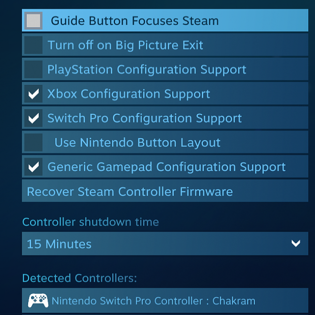 Click image for larger version.  Name:Nintendo Switch Pro settings.png Views:0 Size:188.6 KB ID:85316