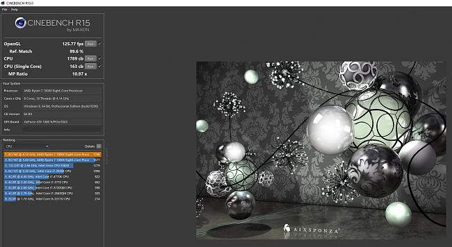 Click image for larger version.  Name:Cinebench multicore r15 4.14 3360.JPG Views:4 Size:191.9 KB ID:65850
