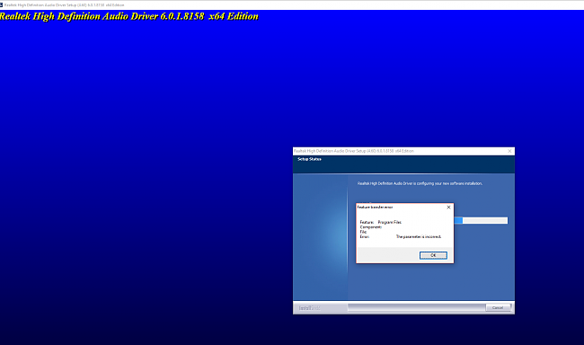 Click image for larger version.  Name:2ND ERROR REINSTALLING AUDIO DRIVERS.PNG Views:2 Size:96.7 KB ID:66128