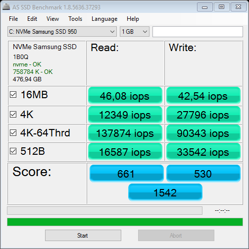 Click image for larger version.  Name:as-ssd-bench NVMe Samsung SSD 13.01.2016 05-34-03.png Views:366 Size:29.1 KB ID:54724