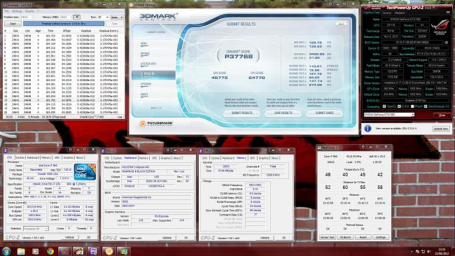 Click image for larger version.  Name:Overclock + 3DMark.jpg Views:37 Size:364.7 KB ID:11019