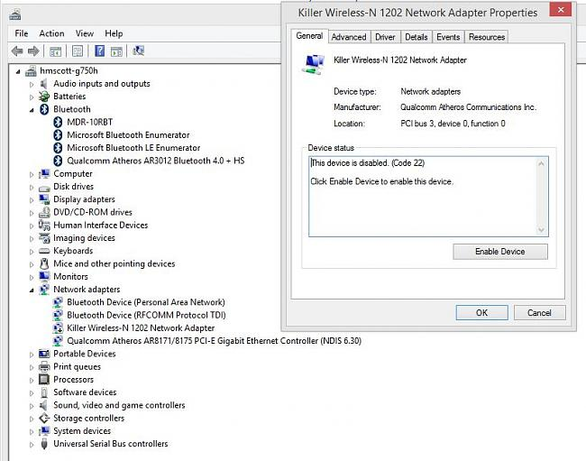 Click image for larger version.  Name:G750JH network devices device manager.JPG Views:6 Size:92.9 KB ID:34121