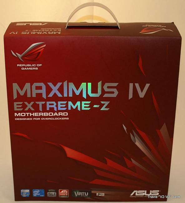 ASUS Maximus IV Extreme-Z Motherboard for sandybridge